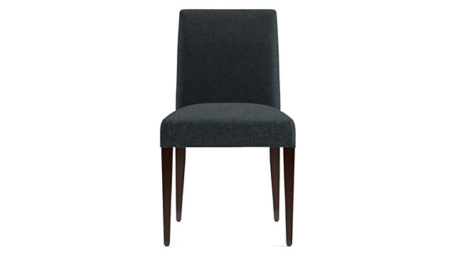 Miles Upholstered Dining Chair shown in Tobias, Cobalt