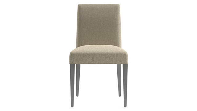Miles Upholstered Dining Chair shown in Tobias, Fennel