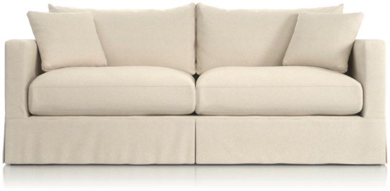 TAP TO ZOOM Slipcover Only For Willow Modern Slipcovered Sofa Shown In  Kingston, Snow