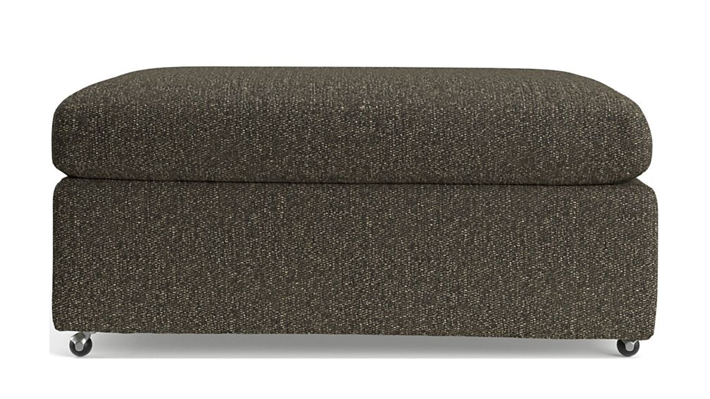 """Lounge II Petite 37"""" Ottoman with Casters - Image 2 of 4"""