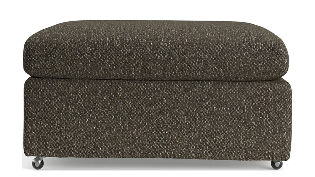 """Lounge II Petite 32"""" Ottoman with Casters - Image 2 of 4"""
