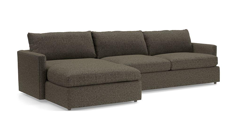 Lounge II Petite 2-Piece Sectional Sofa - Image 2 of 3