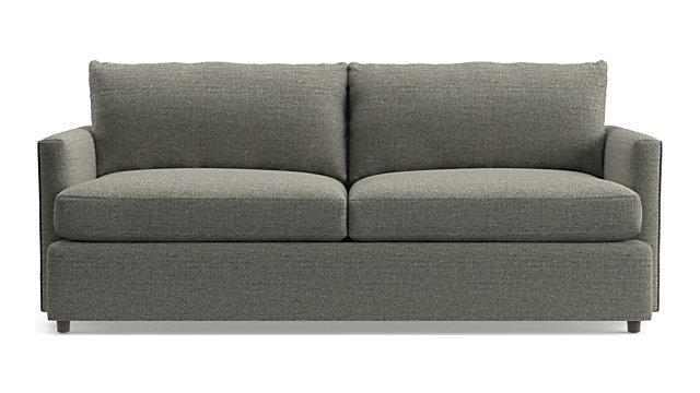 """Lounge II Petite 83"""" Sofa shown in Taft, Steel"""