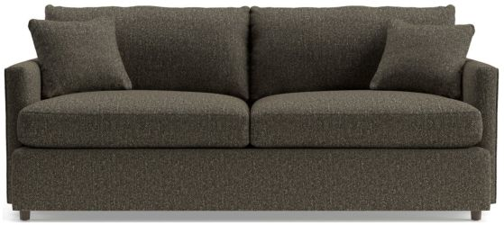 "Lounge II Petite 83"" Sofa shown in Taft, Truffle"
