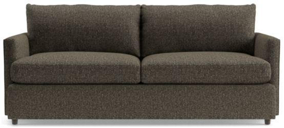 """Lounge II Petite 83"""" Sofa shown in Taft, Truffle"""
