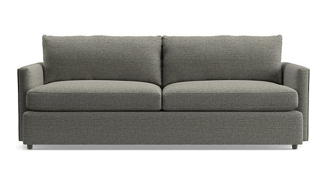 """Lounge II Petite 93"""" Sofa shown in Taft, Steel"""