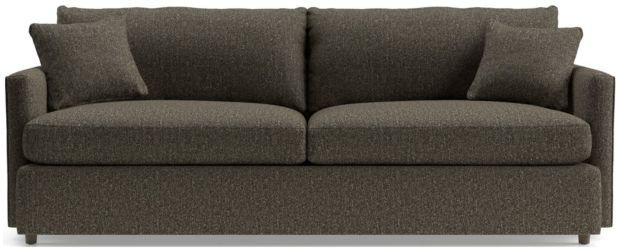 "Lounge II Petite 93"" Sofa shown in Taft, Truffle"