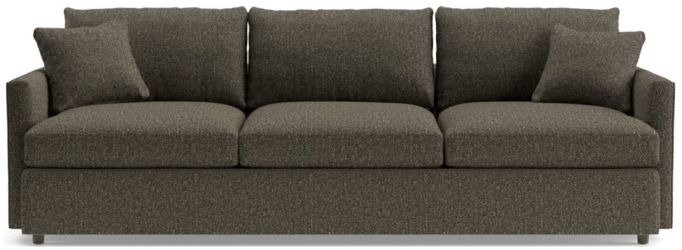 "Lounge II Petite 3-Seat 105"" Grande Sofa shown in Taft, Truffle"