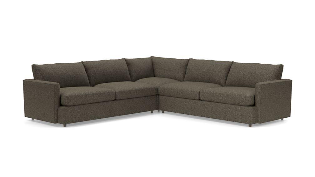 Lounge II Petite 3-Piece Sectional Sofa - Image 2 of 3