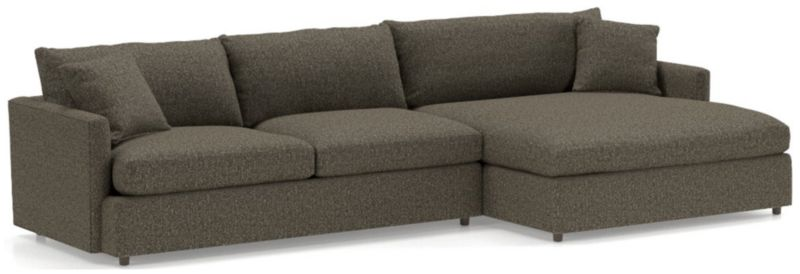 Lounge Ii Petite 2 Piece Right Arm Double Chaise Sectional