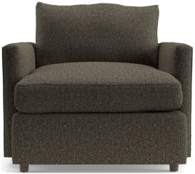 Lounge II Petite Chair shown in Taft, Truffle