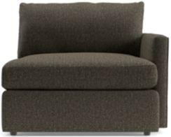 Lounge II Petite Right Arm Chair shown in Taft, Truffle
