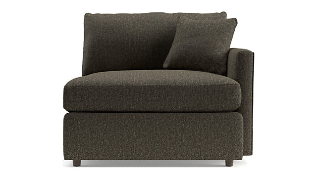 Lounge II Petite Right Arm Chair shown in Taft, Truffle