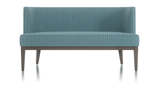 Grayson Settee shown in Vince, Cobalt