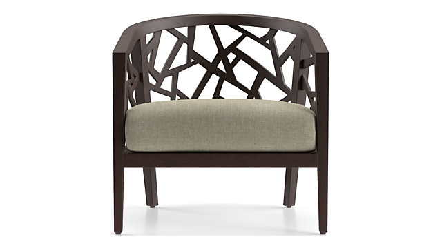 Ankara Truffle Frame Chair With Fabric Cushion Reviews