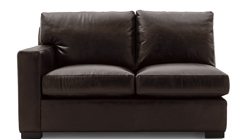 Axis II Leather Left Arm Loveseat - Image 2 of 5
