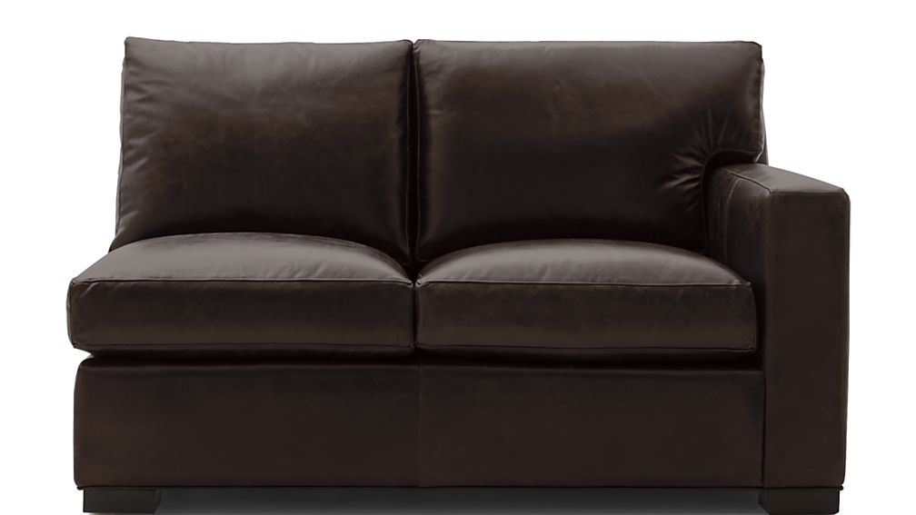 Axis II Leather Right Arm Loveseat - Image 2 of 5