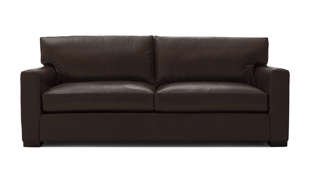 Axis II Leather 2-Seat Queen Sleeper Sofa with Air Mattress - Image 2 of 9