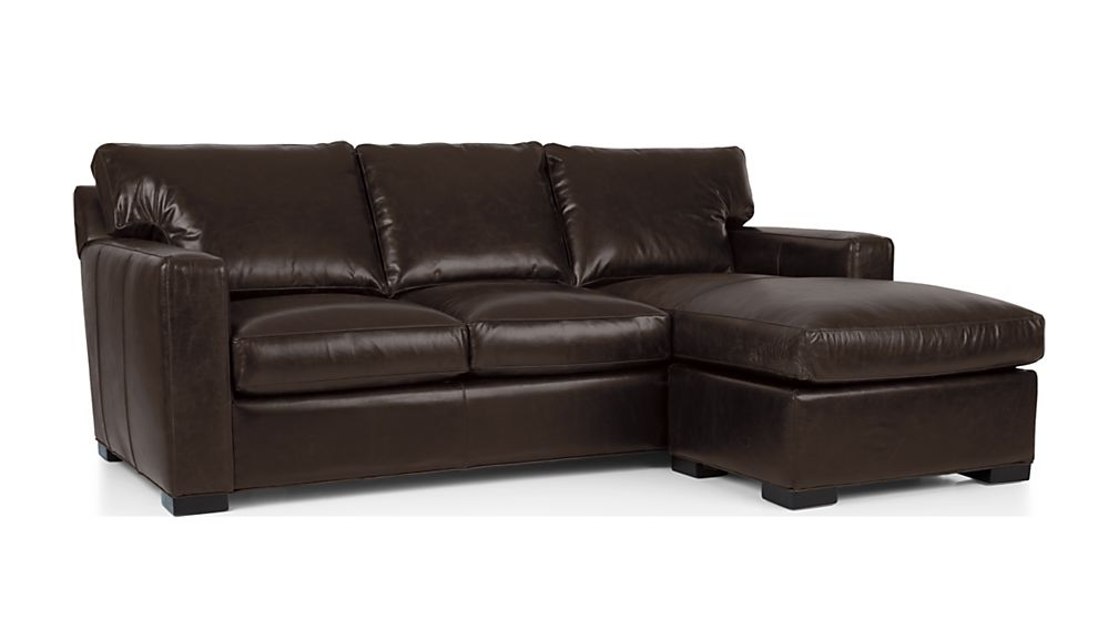 Axis II Leather Right Arm Queen Sleeper Lounger with Air Mattress - Image 2 of 7