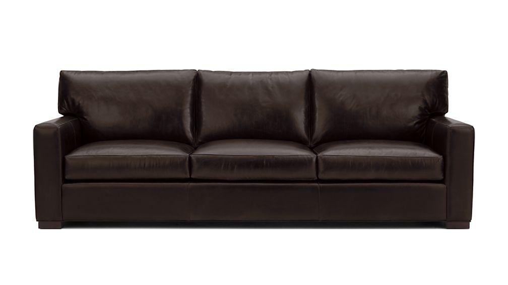 "Axis II Leather 3-Seat 105"" Grande Sofa - Image 2 of 5"