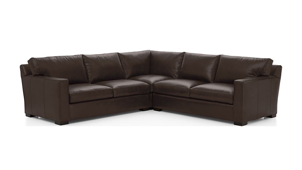 Axis II Leather 3-Piece Sectional Sofa - Image 2 of 2
