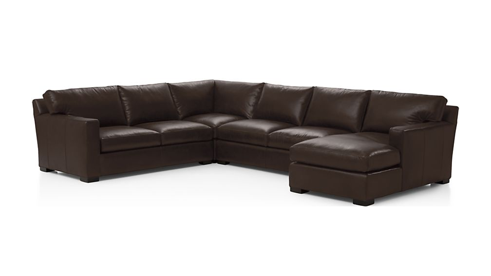 Axis II Leather 4-Piece Sectional Sofa - Image 2 of 2