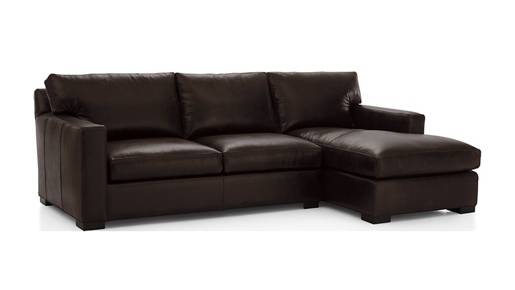Axis II Leather 2-Piece Sectional Sofa - Image 2 of 2