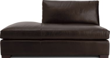 Axis II Leather Left Bumper shown in Libby, Espresso