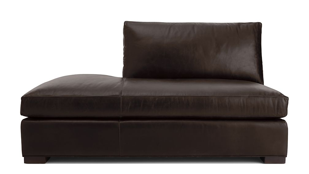 Axis II Leather Left Bumper Sofa - Image 2 of 4
