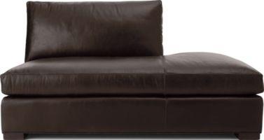 Axis II Leather Right Bumper shown in Libby, Espresso