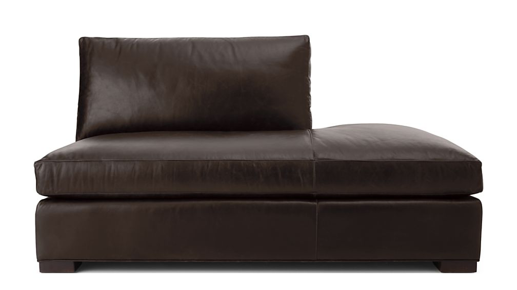 Axis II Leather Right Bumper Sofa - Image 2 of 4
