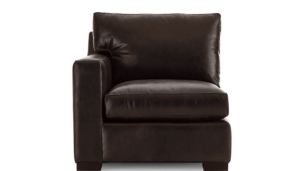 Axis II Leather Left Arm Sectional Chair - Image 2 of 5