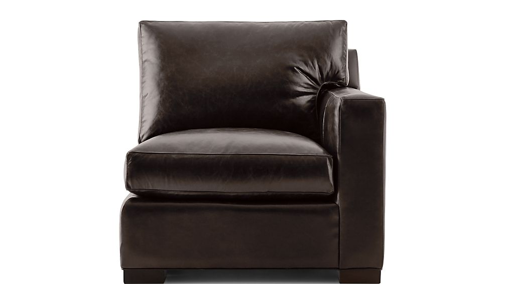 Axis II Leather Right Arm Sectional Chair - Image 2 of 5