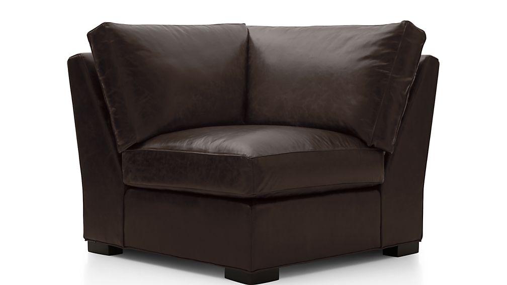 Axis II Leather Corner Chair - Image 2 of 4