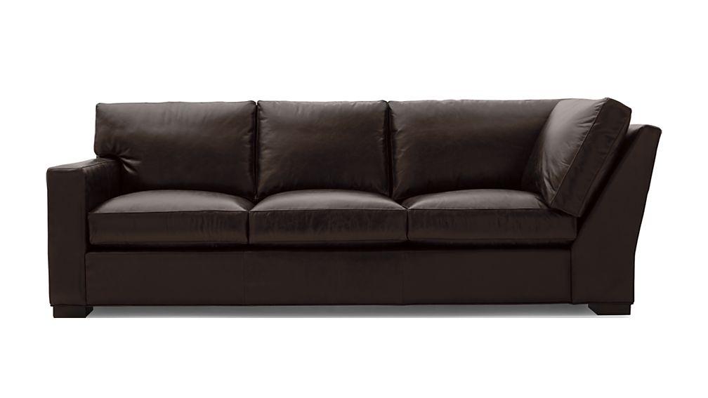 Axis II Leather Left Arm Corner Sofa - Image 2 of 5