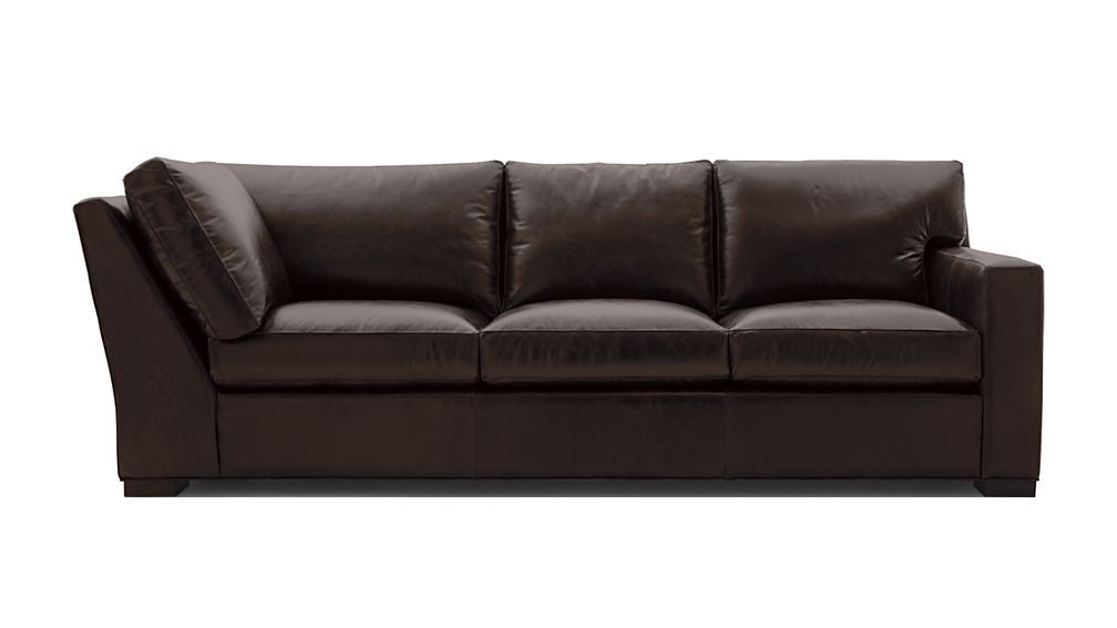 Axis II Leather Right Arm Corner Sofa - Image 2 of 5