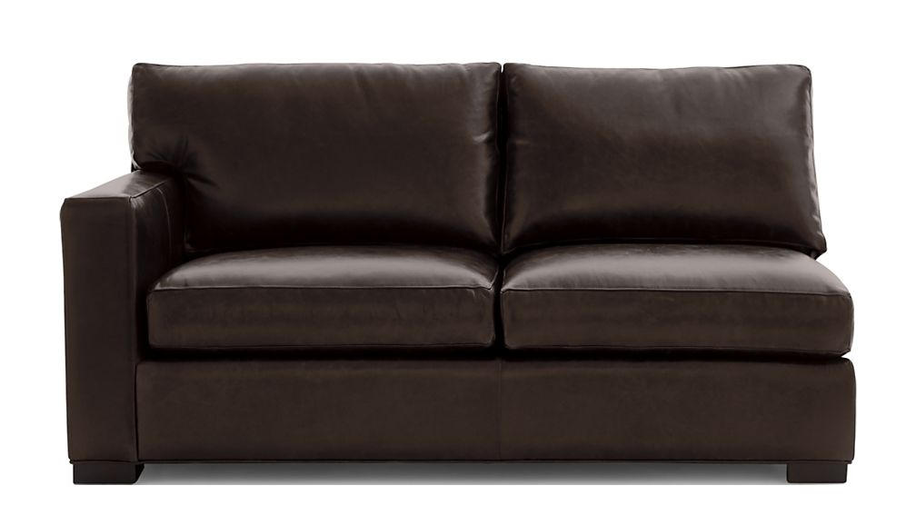 Axis II Leather Left Arm Full Sleeper Sofa with Air Mattress - Image 2 of 7