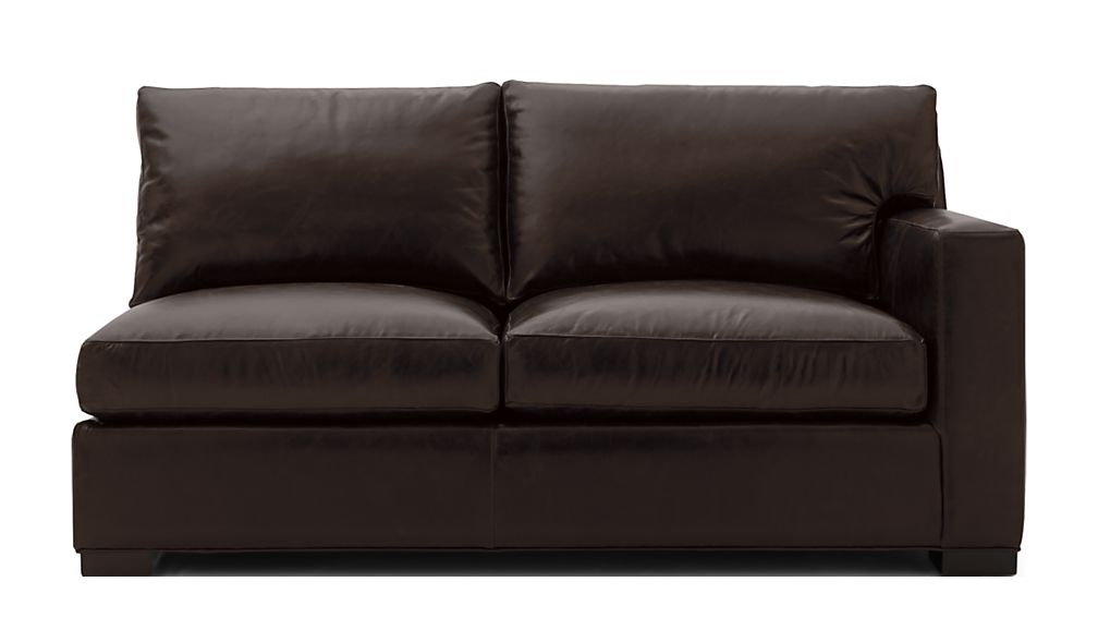 Axis II Leather Right Arm Full Sleeper Sofa with Air Mattress - Image 2 of 8