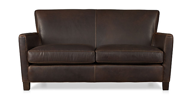 Brilliant Briarwood Leather Loveseat Gmtry Best Dining Table And Chair Ideas Images Gmtryco
