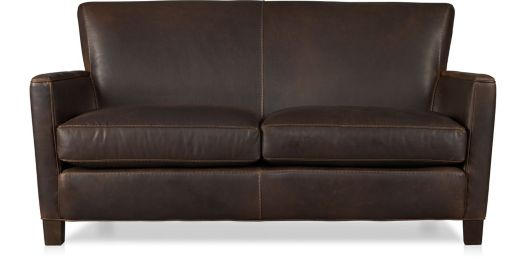 Briarwood Leather Loveseat shown in Potomac, Oak