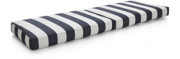 Regatta Sofa Cushions shown in Sunbrella, Cabana Stripe
