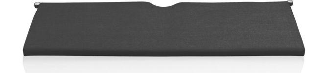 Rocha Sofa Cushion shown in Sunbrella, Charcoal