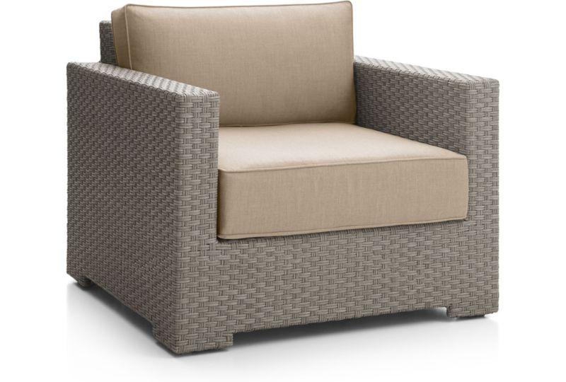 Ventura Quartz Outdoor Arm Chair Lounge Chair In Lounge