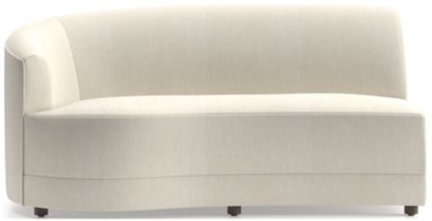 Infiniti Left Arm Loveseat shown in Synergy, Oatmeal