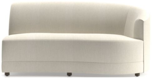 Infiniti Right Arm Loveseat shown in Synergy, Oatmeal