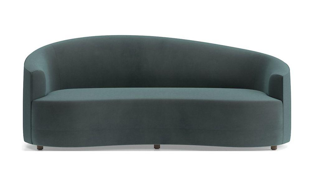 Infiniti Curve Back Sofa Crate And Barrel