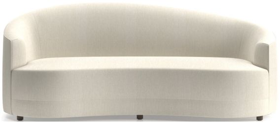 Infiniti Curve Back Sofa shown in Synergy, Oatmeal