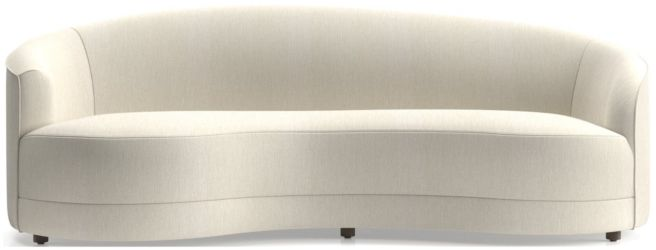 Infiniti Grande Curve Back Sofa shown in Synergy, Oatmeal