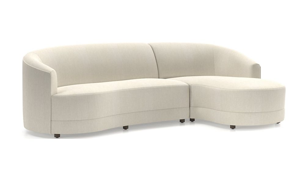 Infiniti 2-Piece Curve Back Sectional - Image 2 of 3