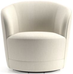 Infiniti Swivel Chair shown in Synergy, Oatmeal